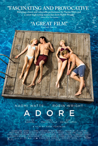 Adore Anne Fontaine Two Mothers Poster