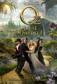 Oz the Great and Powerful Sam Raimi Poster