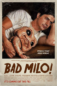 Jacob Vaughan's Bad Milo! Poster
