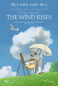 The Wind Rises Hayao Miyazaki poster