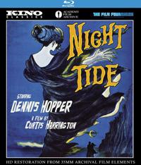 Curtis Harrington Night Tide blu-ray coverbox