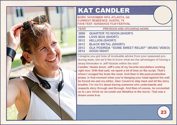 "2014 Sundance ""Trading Cards"" Series: #23. Kat Candler (Hellion)"