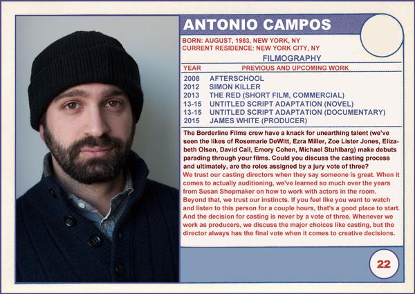 Antonio Campos James White