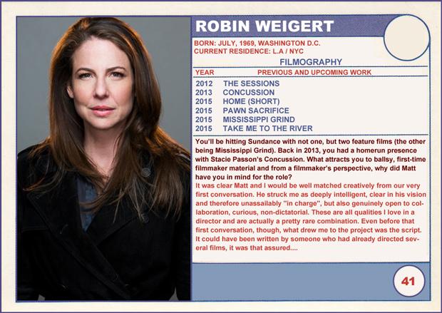 Robin Weigert married