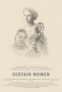Kelly Reichardt Certain Women Poster