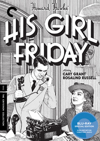 His Girl Friday Criterion