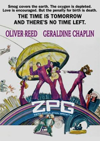 ZPG (Zero Population Growth) Blu-ray Cover