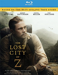 The Lost City of Z James Gray Blu-ray Cover