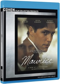 James Ivory Maurice Cover