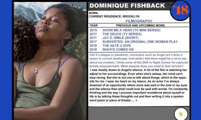 Dominique Fishback (Night Comes On)