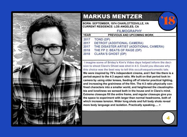 Markus Mentzer Clara's Ghost