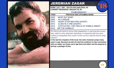 Jeremiah Zagar (We the Animals)