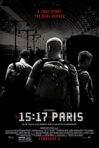 The 15:17 to Paris Clint Eastwood Poster