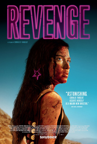 Coralie Fargeat Revenge Poster
