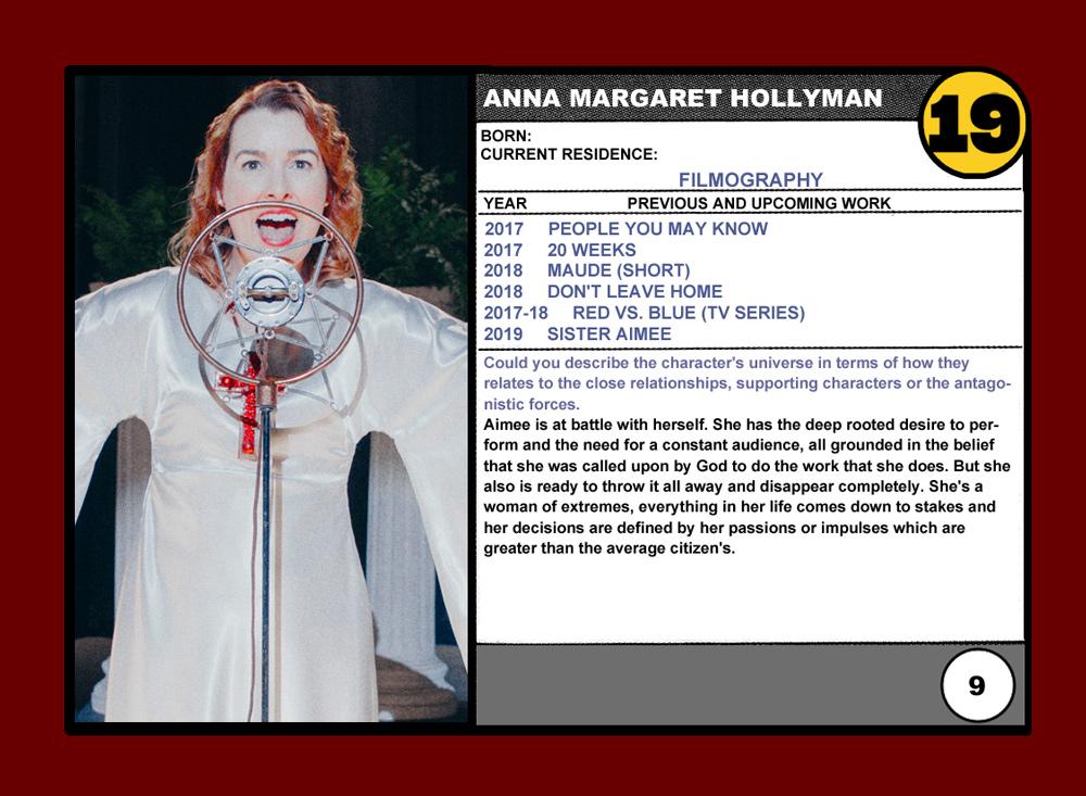 anna margaret hollyman wiki